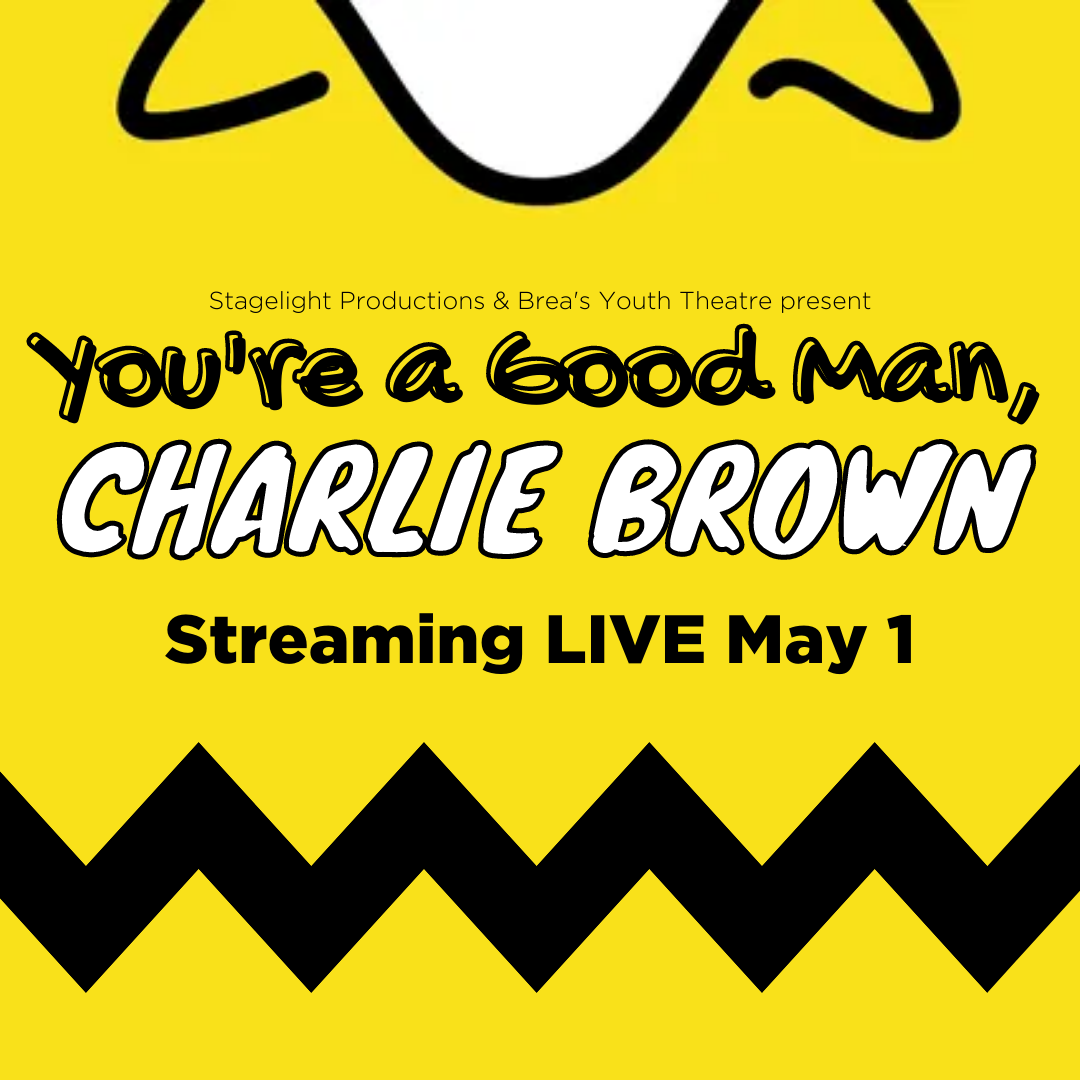 You're a Good Man Charlie Brown streams live on May 1.